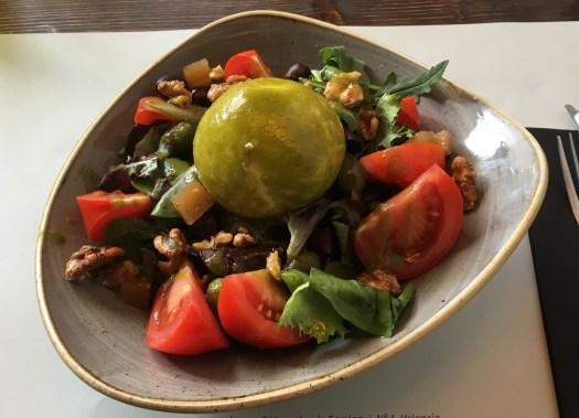 Burratta salad at Bastard Kitchen
