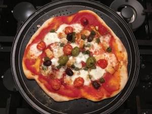 Sourdough pizza number 2