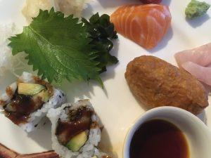 Take away sashimi and sushi from Kazu