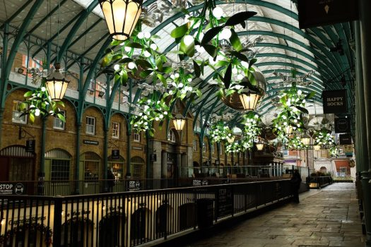 A very empty Covent Garden