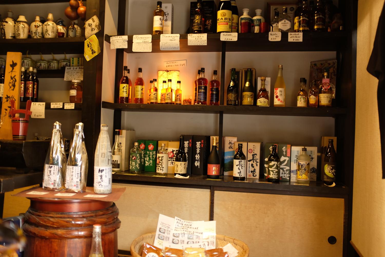 Sake shop at Narai