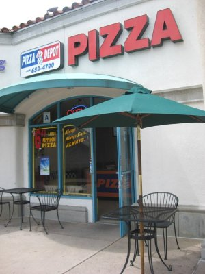 Pizza Depot - Outside - San Diego, CA