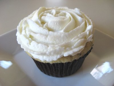 Earl Grey Tea Cupcakes - Swirls