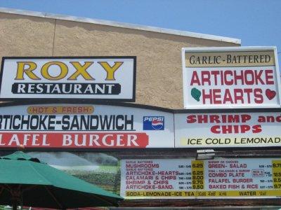 San Diego County Fair - Roxy Restaurant
