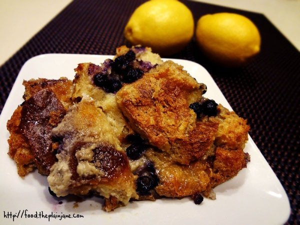 blueberry-lemon-bread-pudding