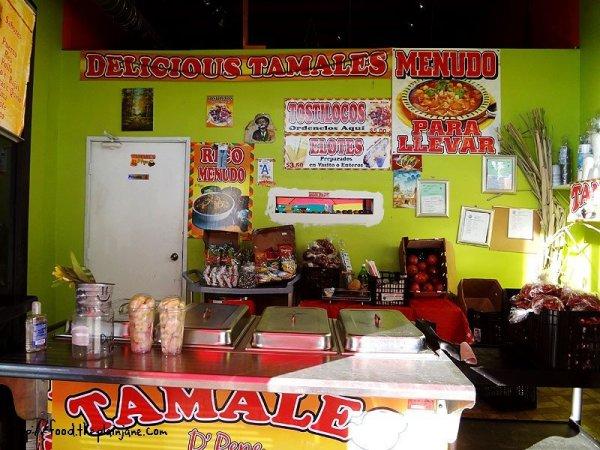 tamales-stand-setup