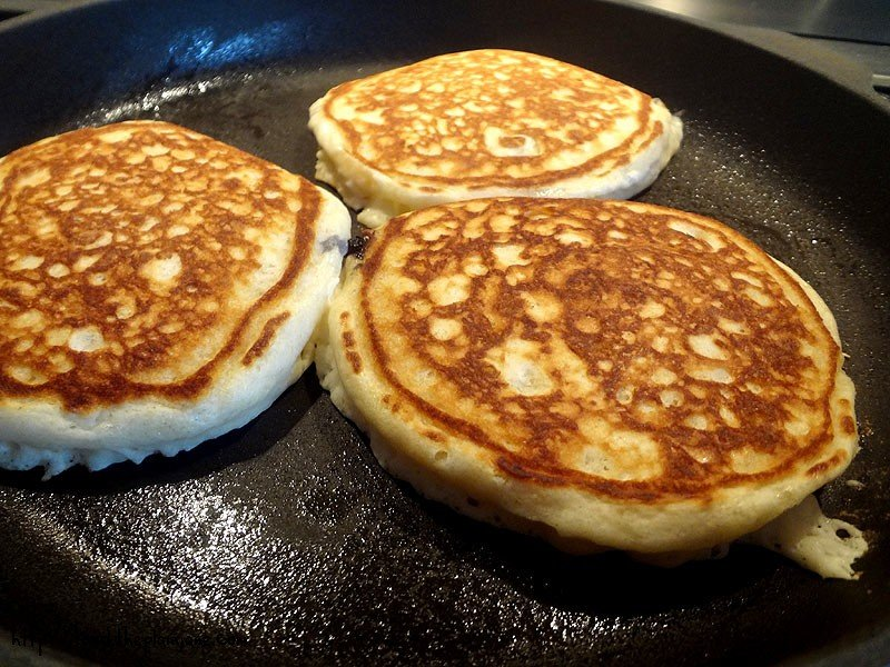 Homemade Old Fashioned Pancakes