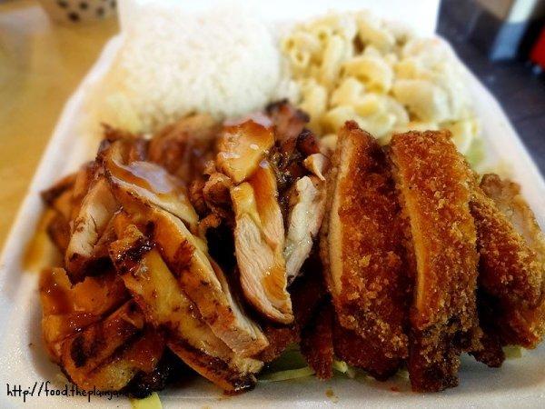 grilled-chicken-katsu-chicken-mix-plate