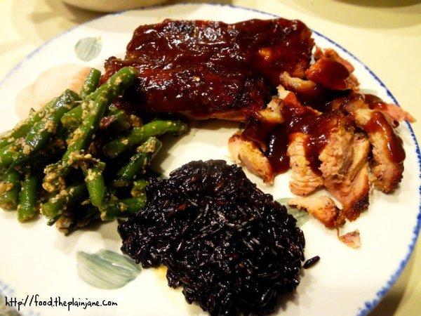dinner-plate-homemade-bbq