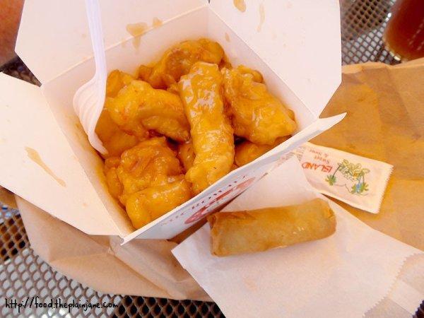 iWok Orange Chicken Fun Box