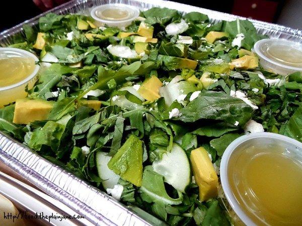 Avocado Arugula Salad / zpizza