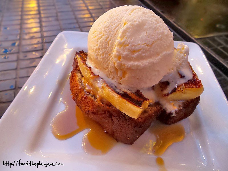 Twisted Elvis Banana Bread Dessert At The Patio On Lamont Street