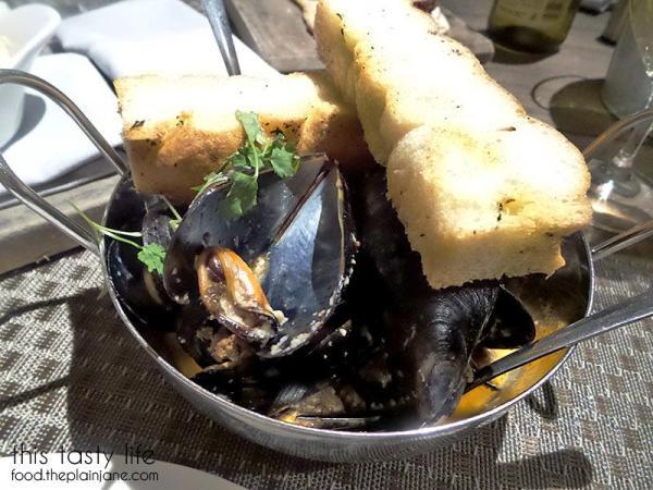Black Mussels with Chorizo - SEA180 Coastal Tavern