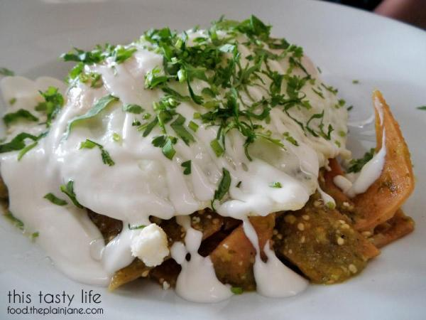 Green Chilaquiles / Hanna's Gourmet - San Diego, CA