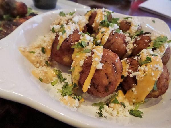 Papas Potato Balls at Werewolf in San Diego