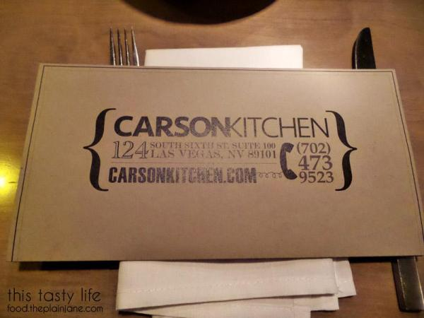 Carson Kitchen | Las Vegas | This Tasty Life