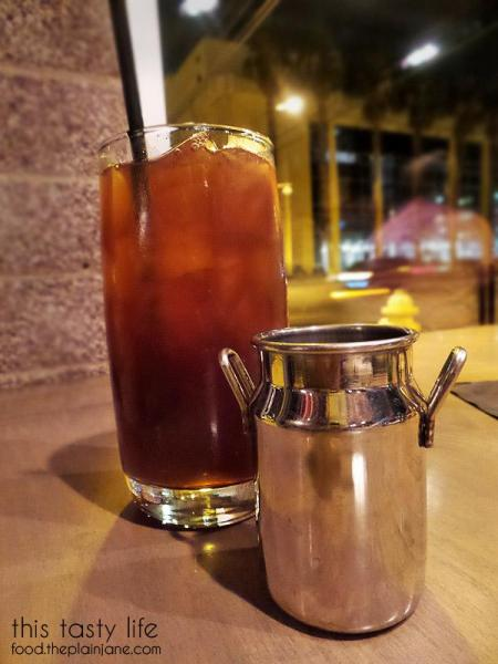 Iced Tea with Simple Syrup - Carson Kitchen | Las Vegas | This Tasty Life