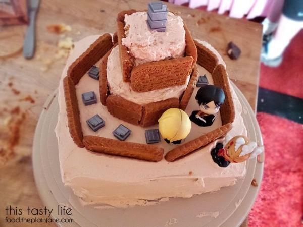 Attack on Titan Birthday Cake | This Tasty Life