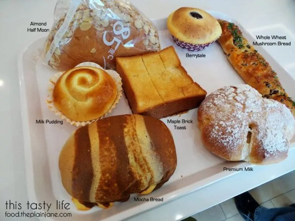 Breads and Treats from 85c Bakery San Diego | This Tasty Life