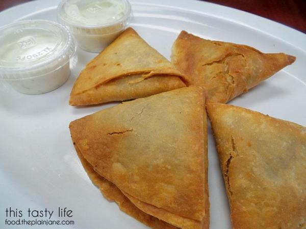 Sambosa at Ariana Produce and Cuisine