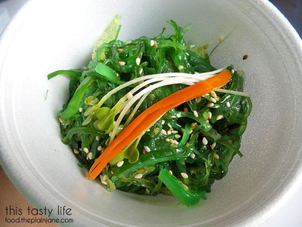 Seaweed Salad - Deli Sushi and Desserts in San Diego / This Tasty Life
