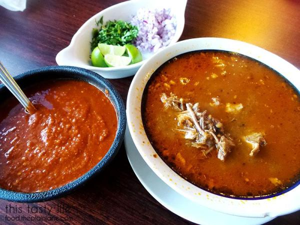 Birria de Res and all the fixings | La Palapa Nayarit - San Diego, CA | This Tasty Life