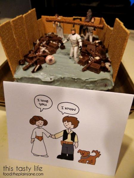 Star Wars Trash Compactor Cake for Valentine's Day | This Tasty Life