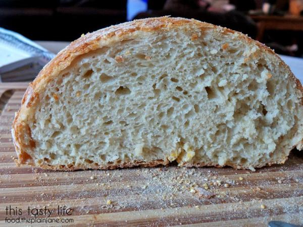 Homemade Bread innards