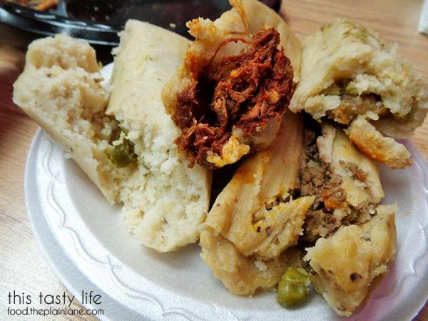 Tamale innards | This Tasty Life  - San Diego food blog