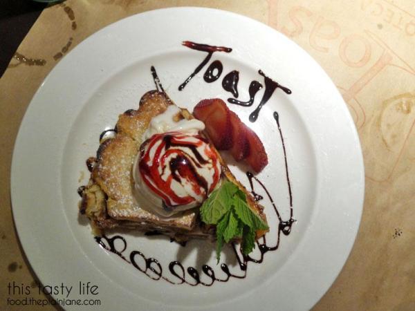 Apple Pie with gelato | Toast Enoteca - East Village/Downtown San Diego