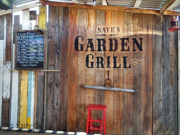 The Stage at Nate's Garden Grill | San Diego, CA - This Tasty Life
