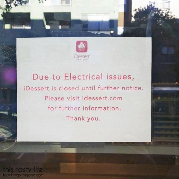 Dessert Fail at iDessert