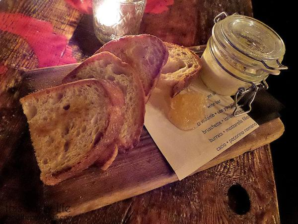 Ricotta, Honey Comb + Grilled Bread | Davanti Enoteca - Del Mar, CA