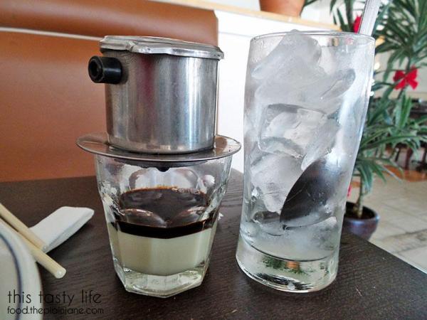 Espresso drip with condensed milk | Pho Hung Cali - Chula Vista, CA