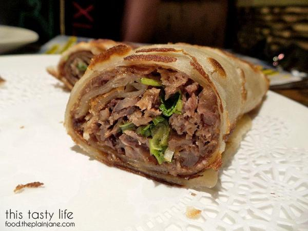 Beef Roll Closeup | China Mama / Las Vegas, NV