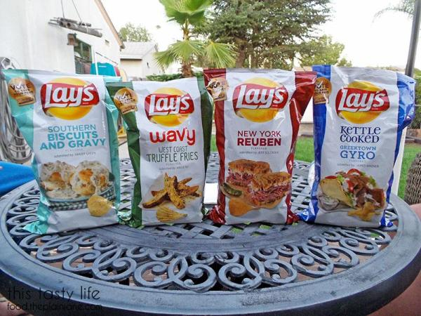 Lays 'Do Us a Flavor' Chips 2015