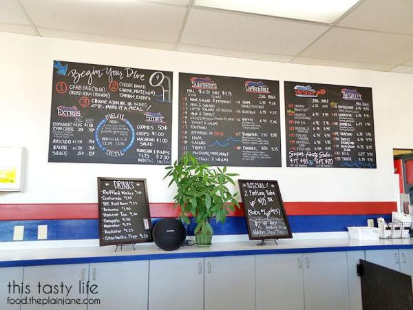 New Menu Boards | College Sub Shop - San Diego, CA