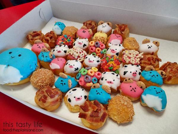 Cute Kawaii Donut Holes | Fantastic Donuts - Los Angeles, CA