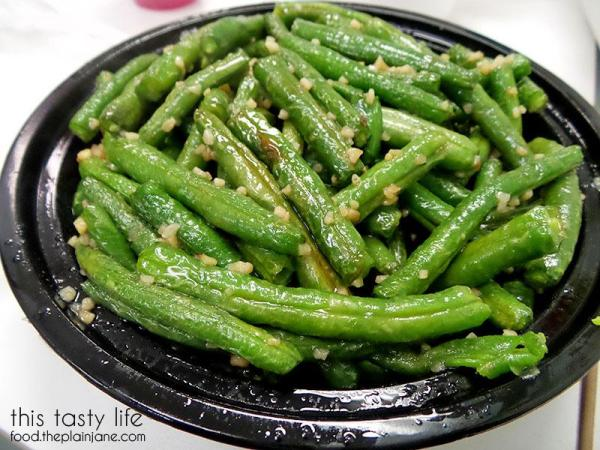 Garlic Green Beans | Wei Wei Asian Express - San Diego, CA