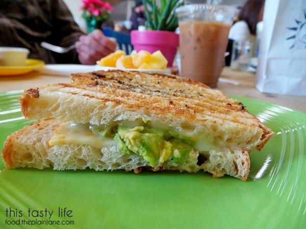 With avocado - Sunny Side Kitchen - Escondido, CA