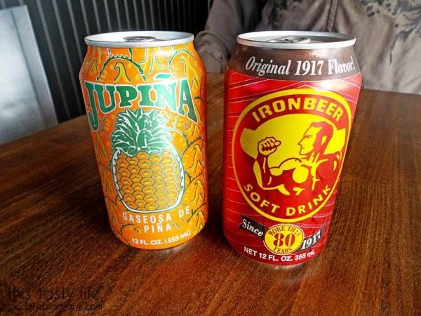 Pineapple Soda and Ironbeer Soda at Havana Grill | San Diego, CA / This Tasty Life