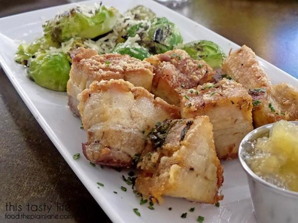 Crispy Pork Belly | MishMash - San Diego, CA | This Tasty Life