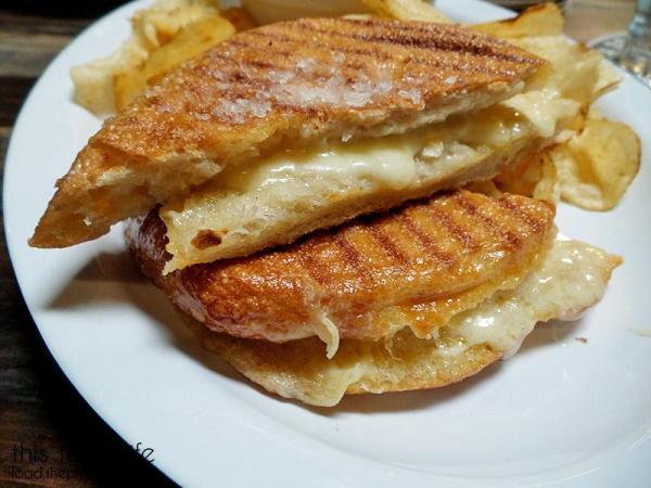 Cheesy Sandwich | Rough Draft Brewing Company - San Diego, CA | This Tasty Life