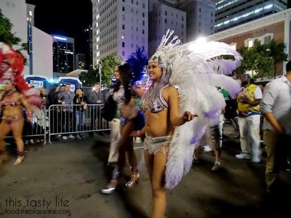 Parade at Mardi Gras San Diego