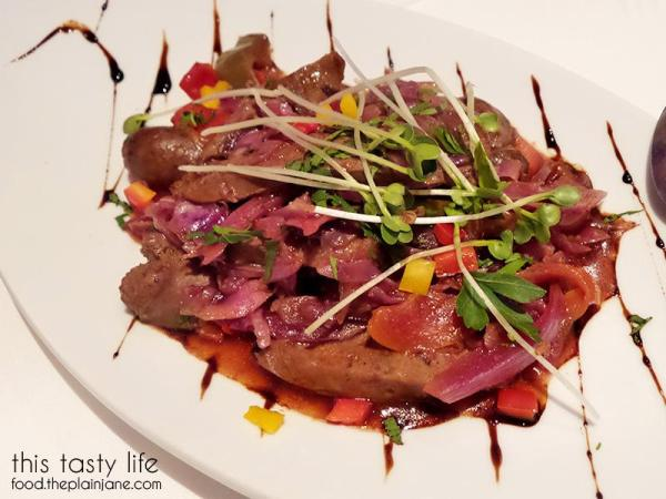 Wild Boar Sausage at Greystone Steakhouse   San Diego, CA   This Tasty Life