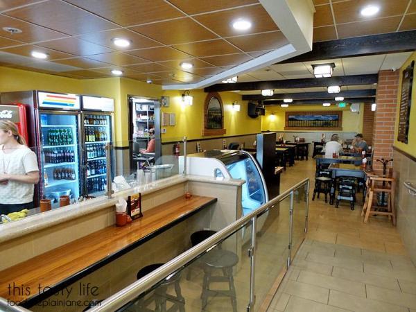 Back dining area at Pipirins | Gaslamp Quarter - San Diego, CA