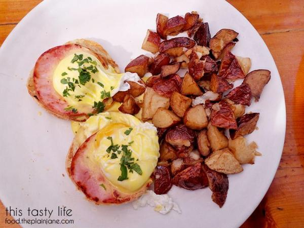 Traditional Eggs Benedict at Fig Tree Cafe   Pacific Beach - San Diego, CA