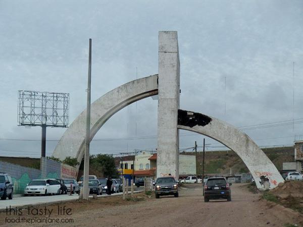 Archway at Popotla, Mexico | This Tasty Life