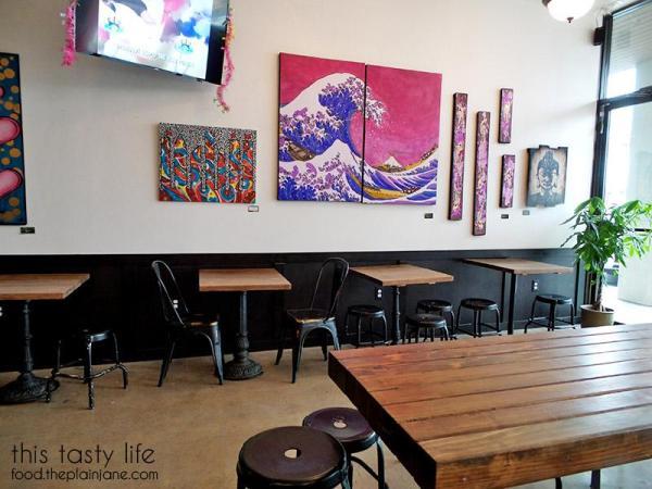 Interior at Kung Fu Tea | San Diego, CA