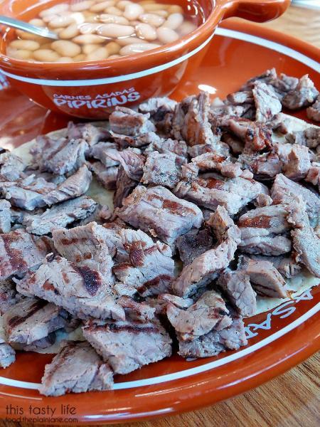 Carne Asada plate at Pipirins | Gaslamp Quarter - San Diego, CA